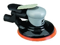 Air-Powered Random Orbital Sander Dynorbital Silver Supreme